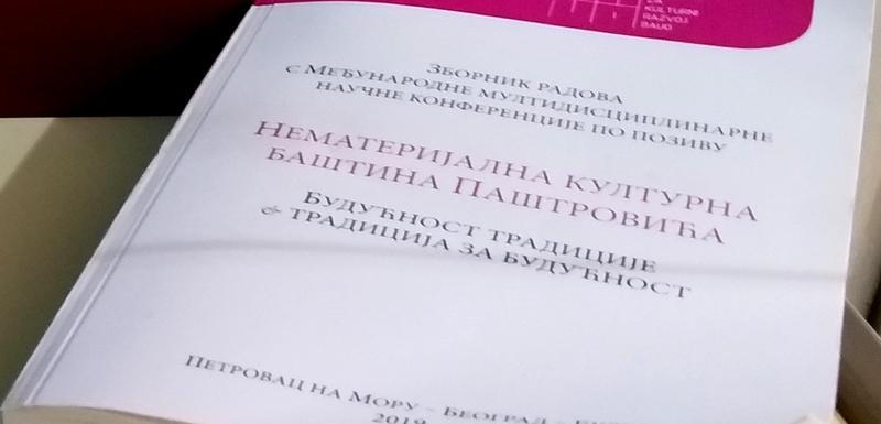 Zbornik posvećen kulturnom nasljeđu Paštrovića