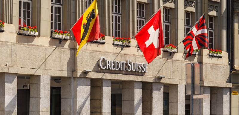 Sjedište banke Credit Suisse u švajcarskom gradu Bernu