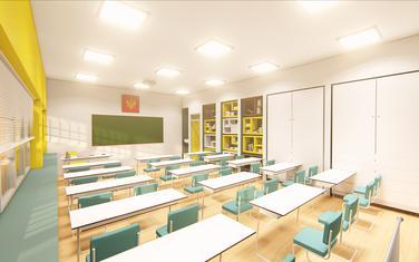 """Rekonstruisana učionica u OŠ """"Štampar Makarije"""""""