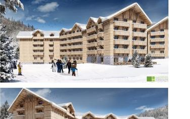 Projektovani izgled hotela na Bjelasici