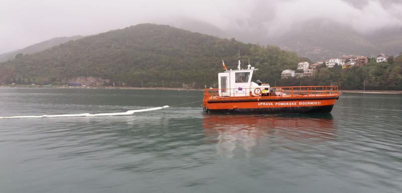 Uprava pomorske sigurnosti interveniše u zalivu