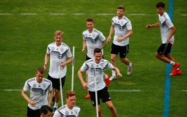 Sa jednog od treninga njemačke reprezentacije (arhiva)