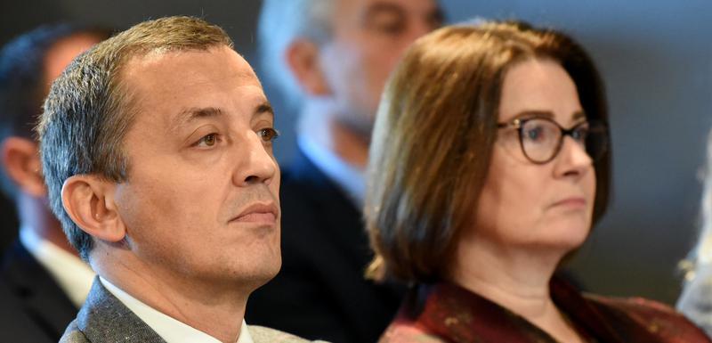 Ministar odbrane Predrag Bošković i američka ambasadorka Džudi Rajzing Rajnke