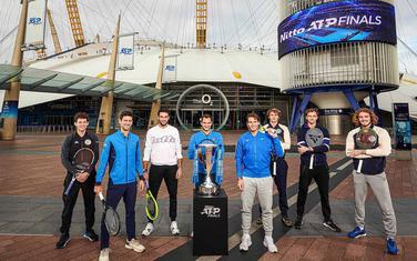 Najboljih osam tenisera ispred O2 arene