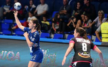 rijeme je za osvetu: Majda Mehmedović na prvoj utakmici sa Brestom