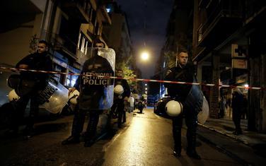 Grčka policija nakon napada 2017. godine