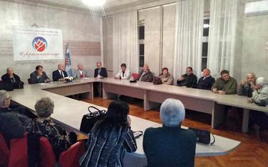 Sa izborne konferencije na Cetinju