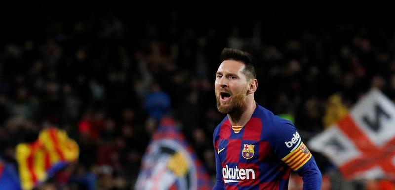 Leo Mesi slavi gol