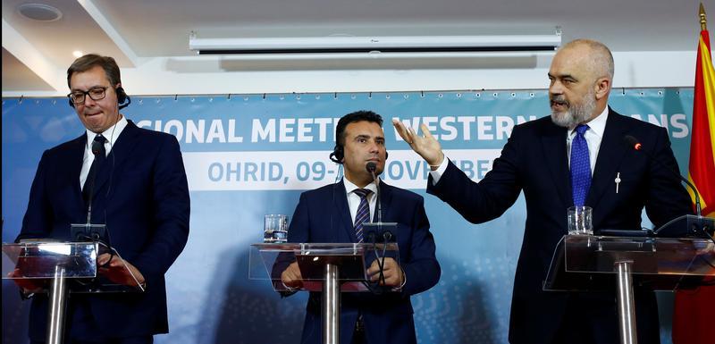 Vučić, Zaev i Rama