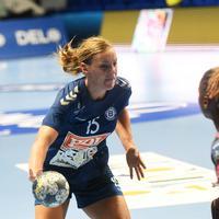 Barbara Lazović na prvoj utakmici sa Brestom