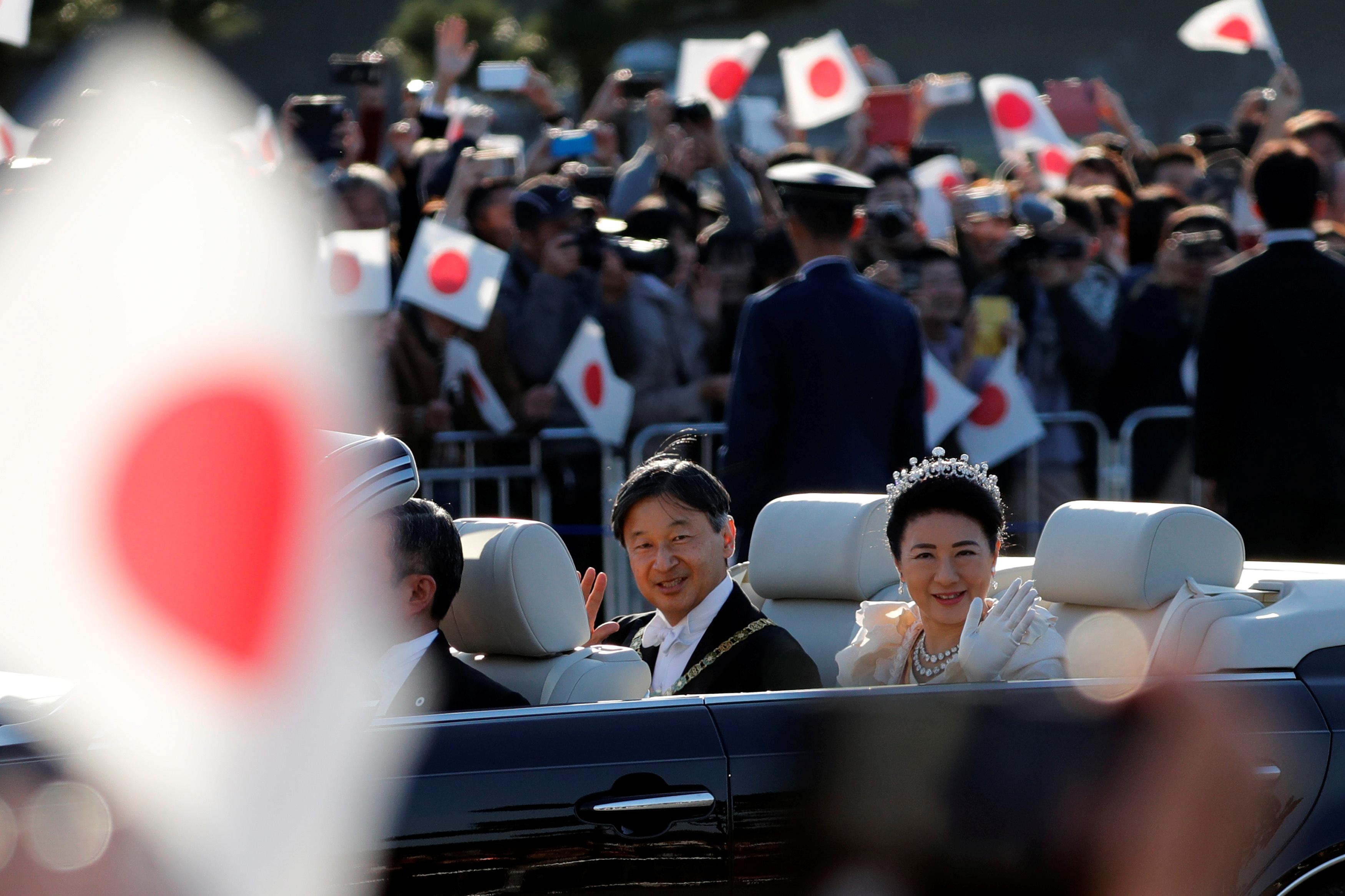 Svečana povorka u Tokiju (foto: Reuters)