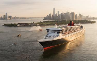 Queen Mary 2 u Njujorku