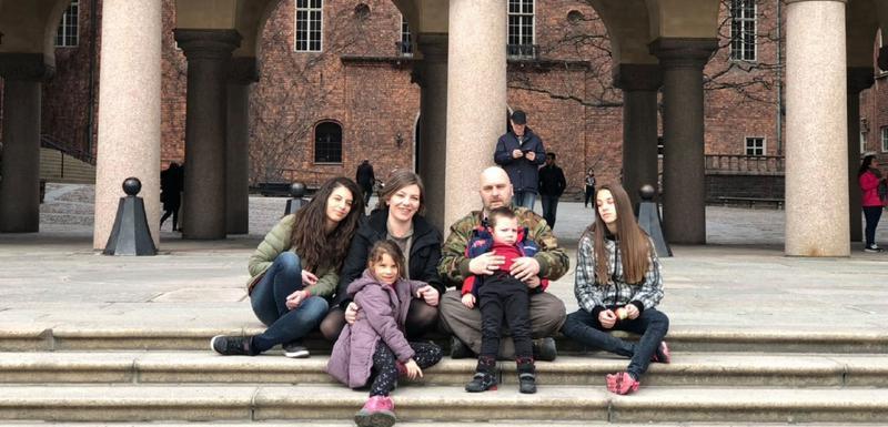 Porodica Žegura u Švedskoj