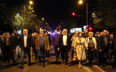 Opozicija mora da razgovara: Sa protesta DF-a