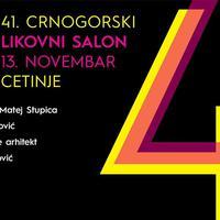 "Četrdeset prvi ""Crnogorski likovni salon 13. novembar"""