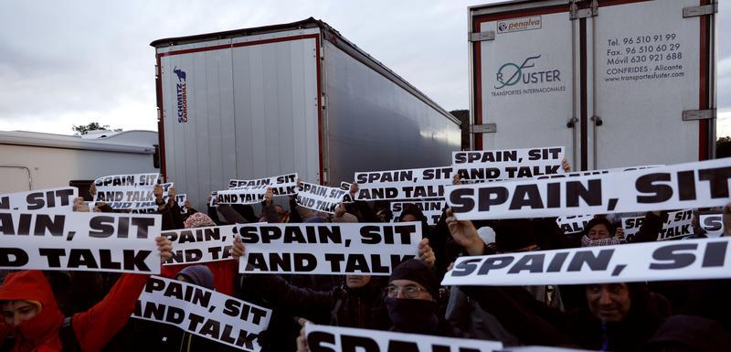 Blokada auto-puta u Kataloniji