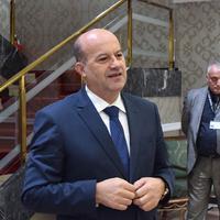 Rafet Husović u Vili Gorica (arhiva)