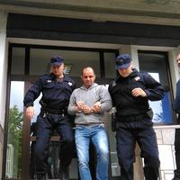 Ivanovića izvode iz suda u Nikšiću