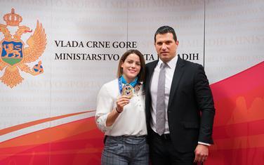 Jovana Peković sa Janovićem