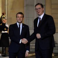 Markon i Vučić u Parizu