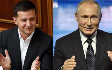 Zelenski i Putin