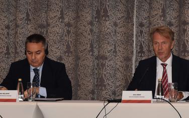 Vedelin Veljović i Aivo Orav