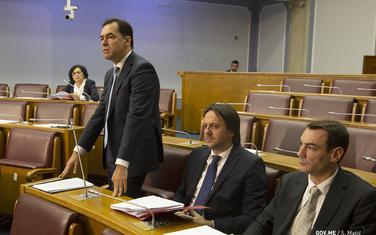 Pažin govori u Skupštini