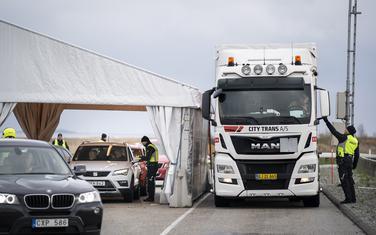 Danska policija provjerava putnike iz Švedske