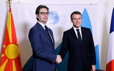 Pendarovski i Makron