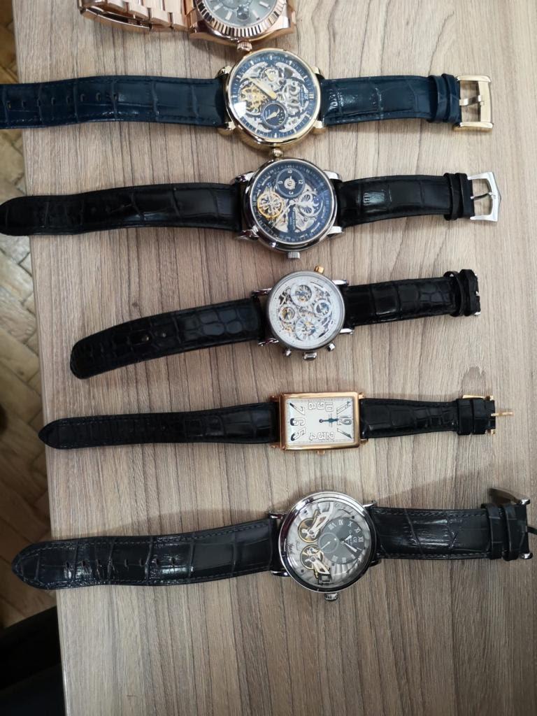 Zaplijenjeni satovi