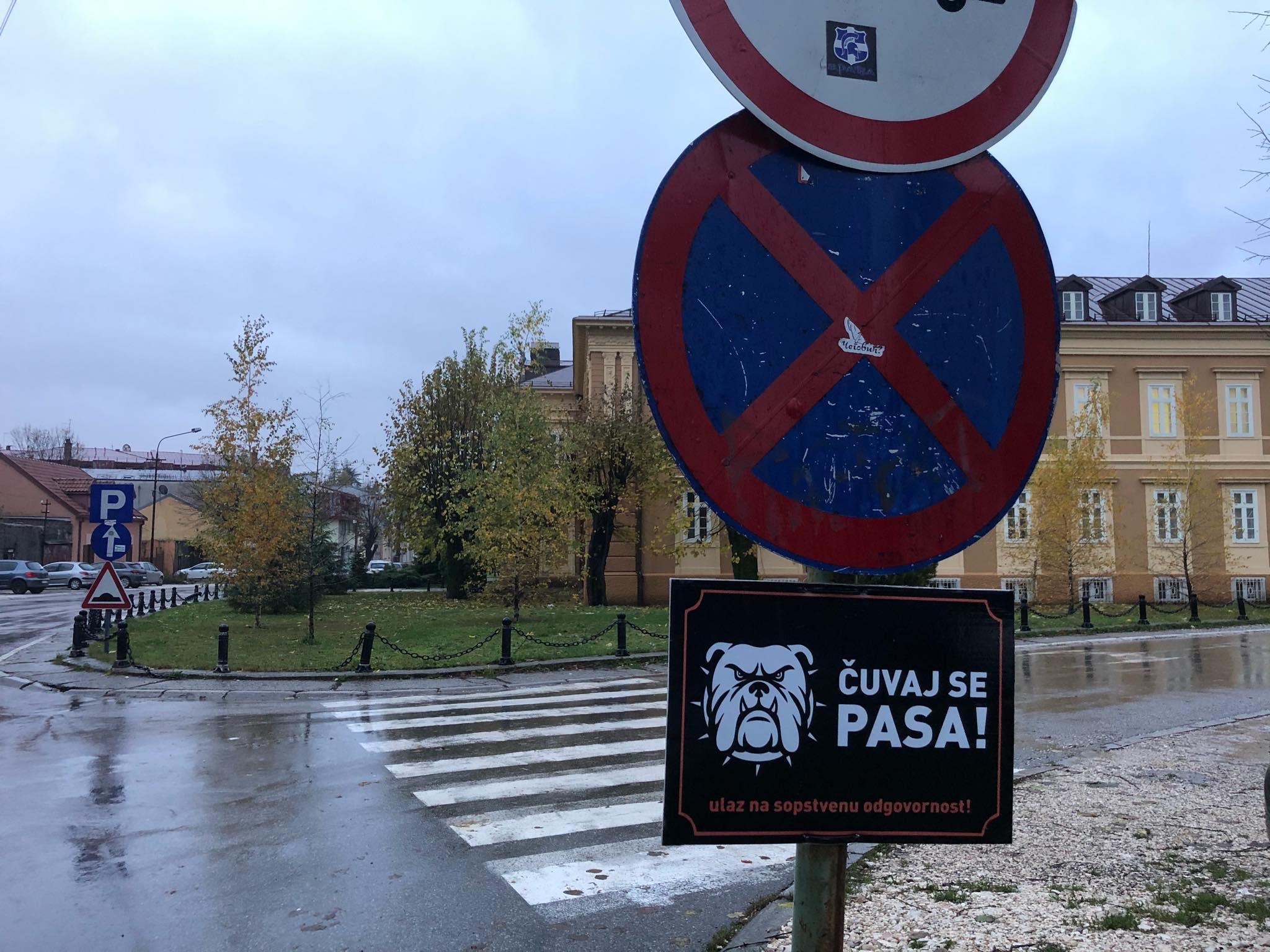Natpis u Prijestonici
