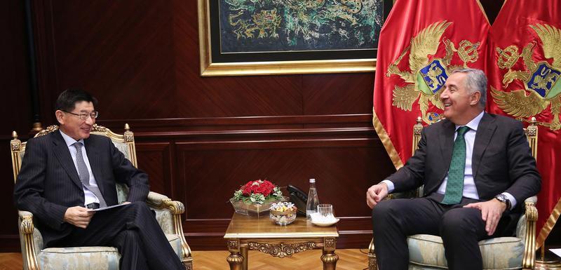 Đukanović sa japanskim ambasadorom