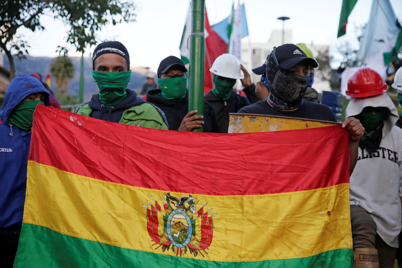 Bolivija protest