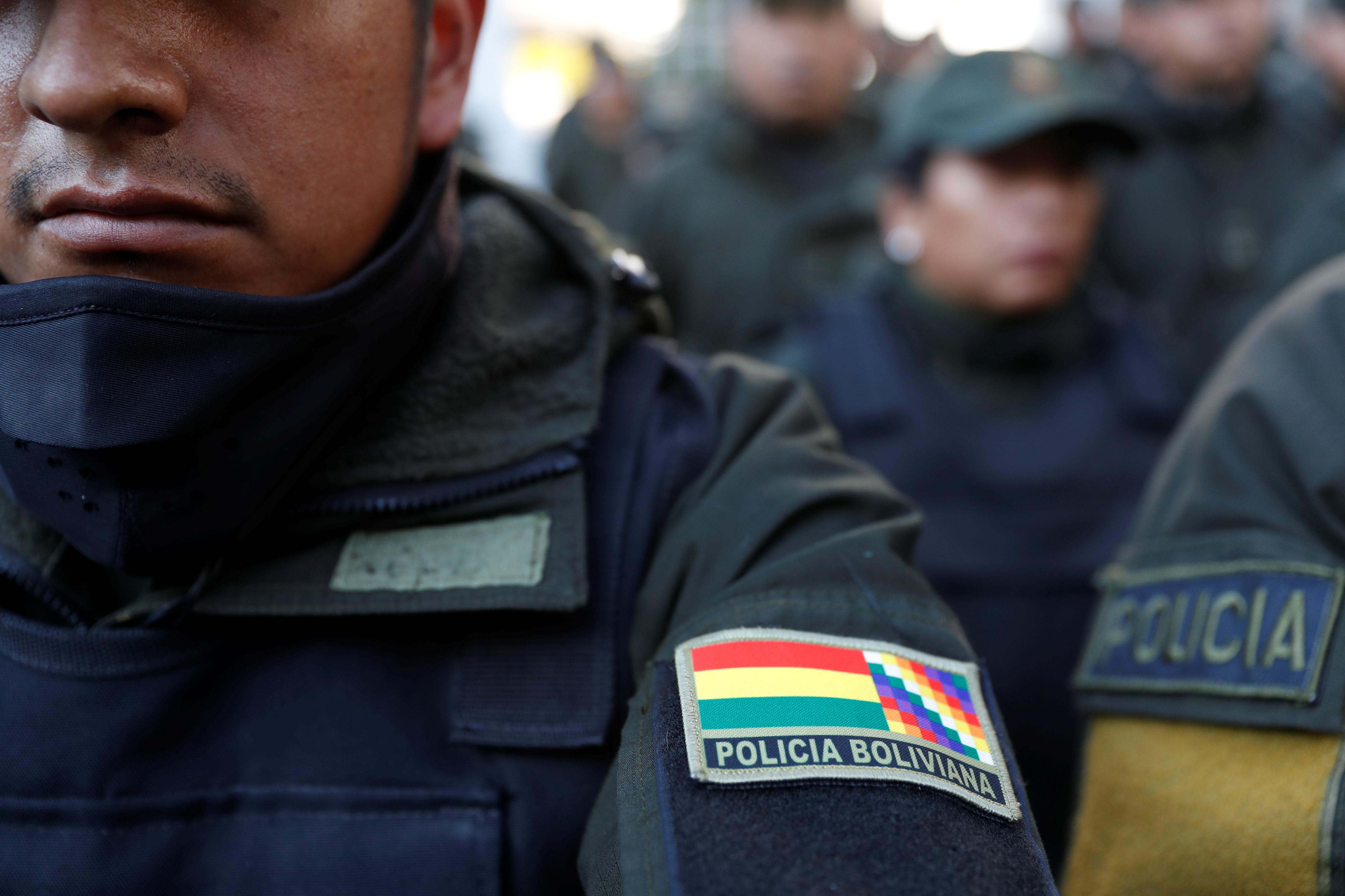 Bolivija policija