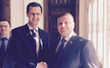 Kondratijev sa Asadom 2017.