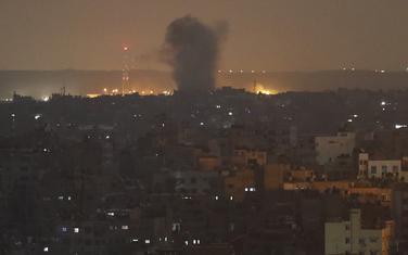 Eksplozija u Gazi koju je izazvao izraelski napad