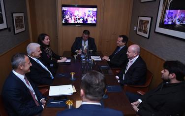 Sa predstavnicima kompanije Qatari Diar