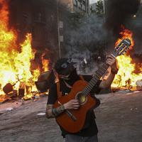 Sa protesta u Santjagu