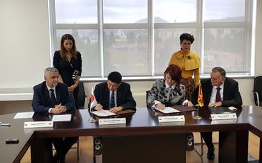 Sa potpisivanja Ugovora o donaciji