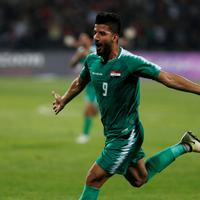 Heroj nacije: Ala Abas slavi gol za pobjedu