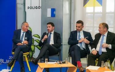 Bogdanović na forumu u Ljubljani