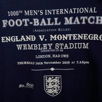 Englezu igraju hiljaditu utakmicu sa Crnom Gorom, baš kao što su i 900.