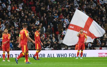 Sa meča Engleska - Crna Gora