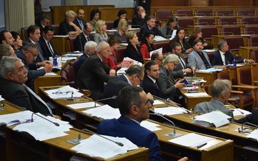 Sa posljednjeg zasijedanja Skupštine