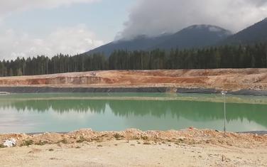 Jalovište rudnika Šuplja stijena