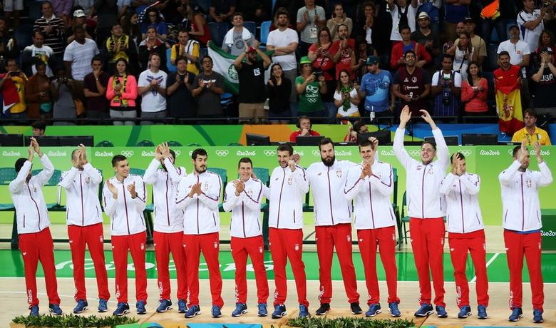 Reprezentacija Srbije na postolju na Olimpijadi u Riju