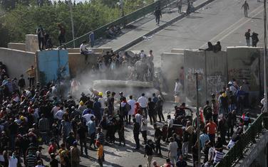 Sa protesta u Bagdadu