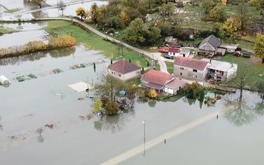 Detalj iz Nikšića tokom prošlonedjeljnih poplava