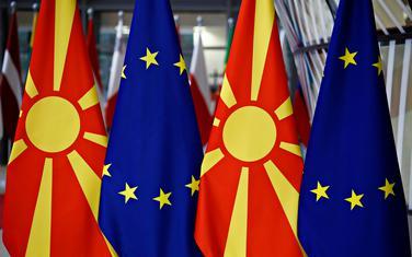 Sjeverna Makedonija, EU