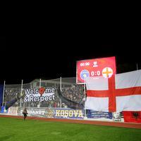Detalj sa stadiona u Prištini